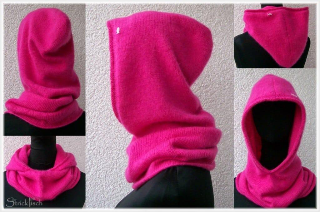 Kapuze/Scoodie Neon pink