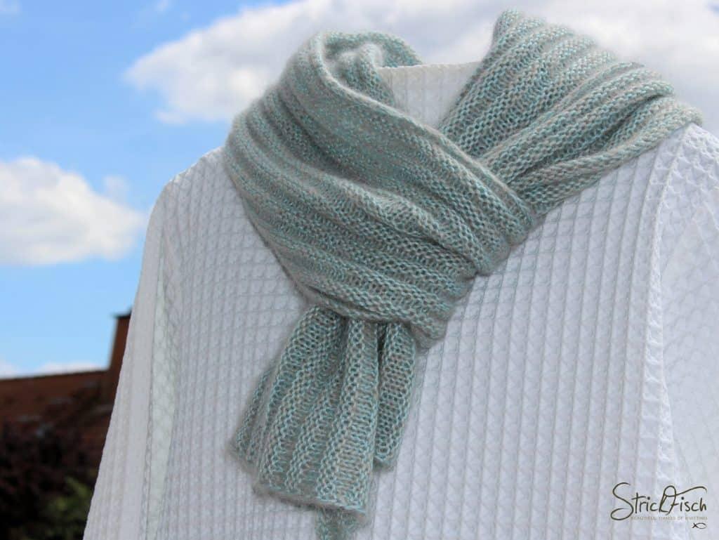 PIKOLI – einfachen Schal stricken