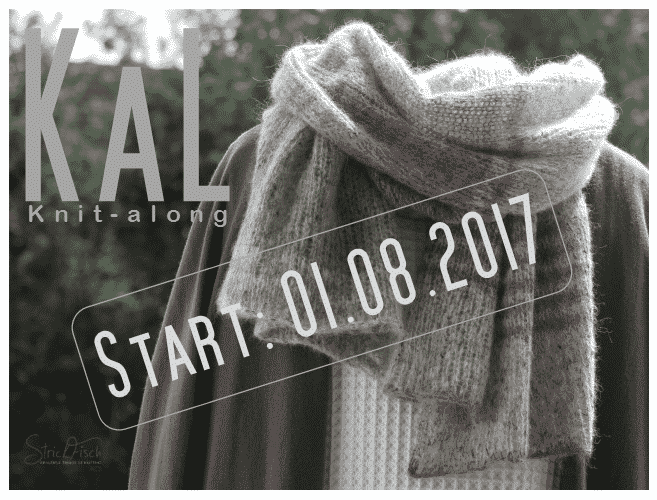 KAL / Knitalong Tweed-Schal