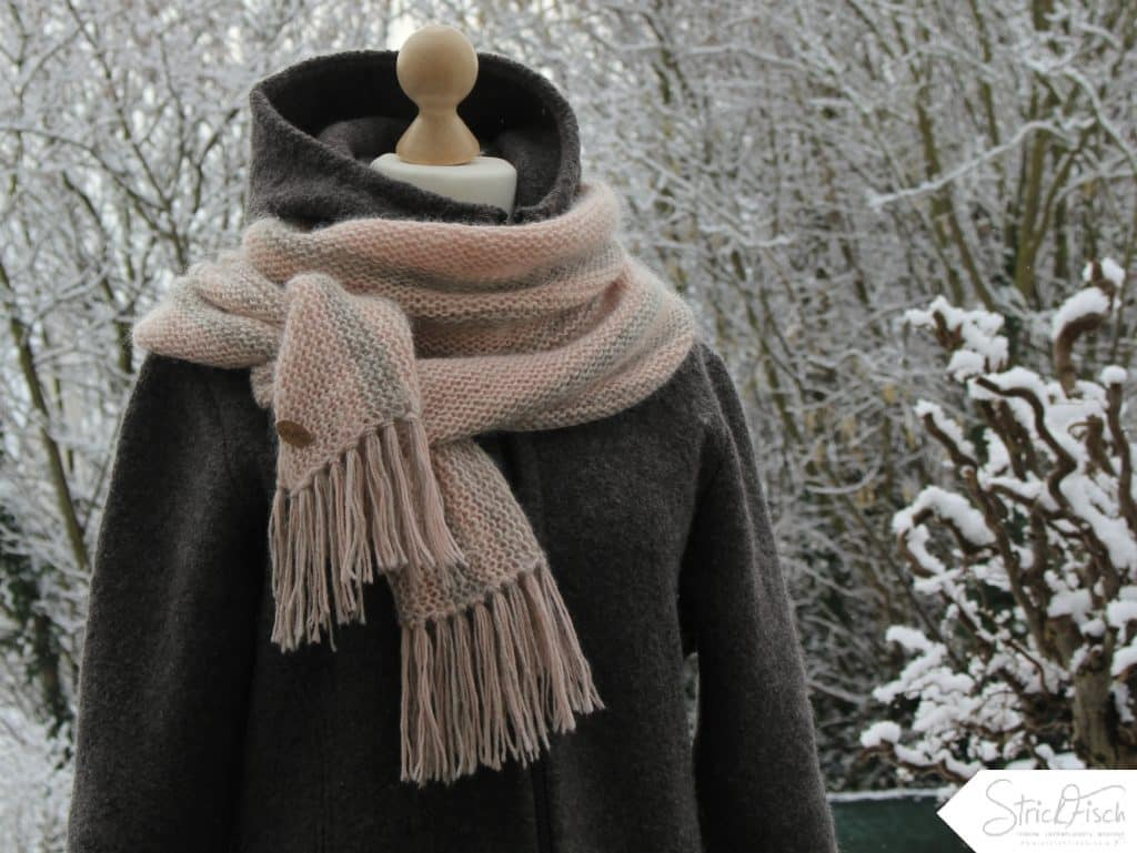 STADTKIND – Schal mit Fransen stricken