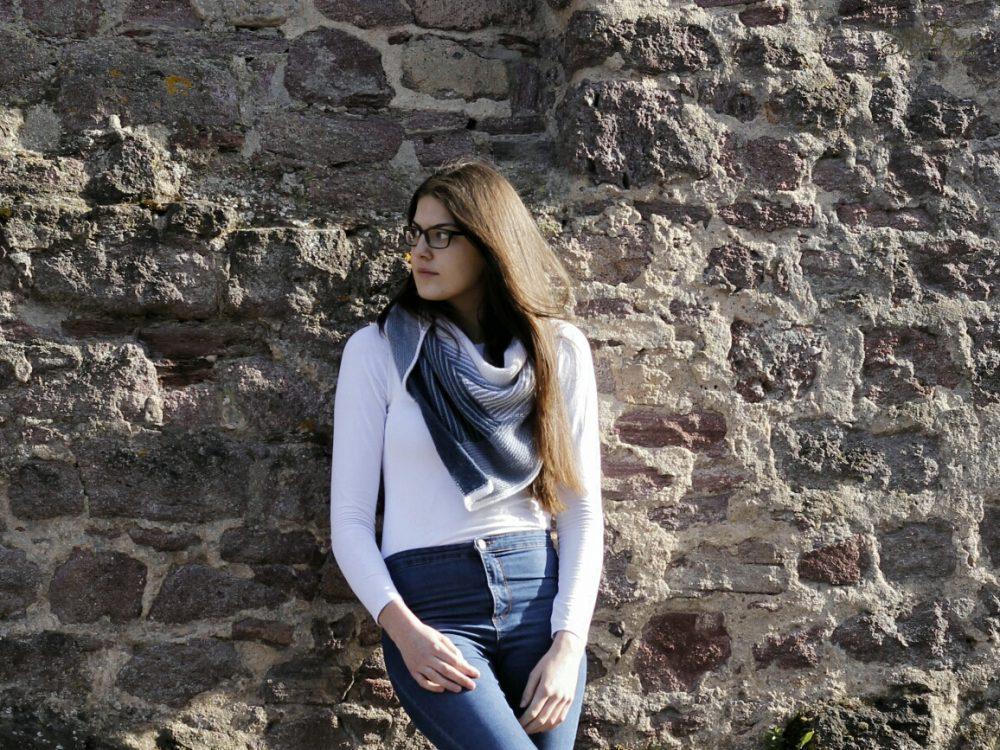 Freitagsfarben-Tuch Jeans