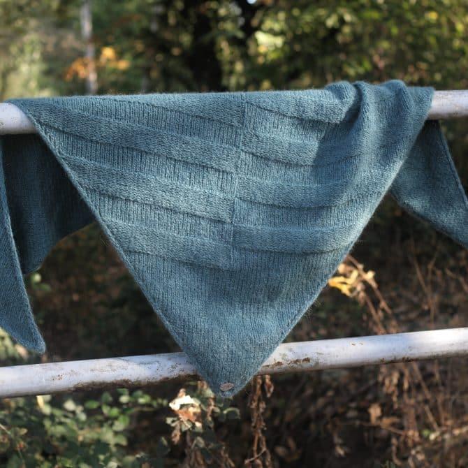 Tag der Wolle Design – Tuch Luna - Strickanleitung