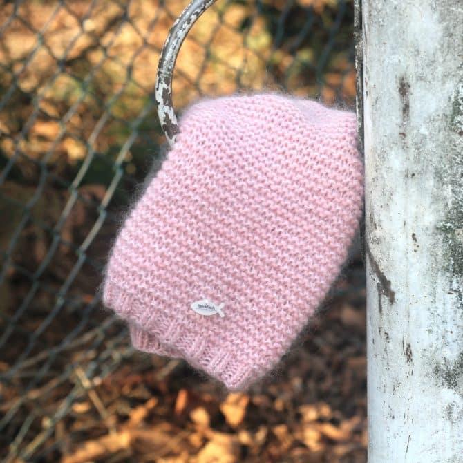 Jessie - kraus-rechts gestrickte Mütze mit Anleitung