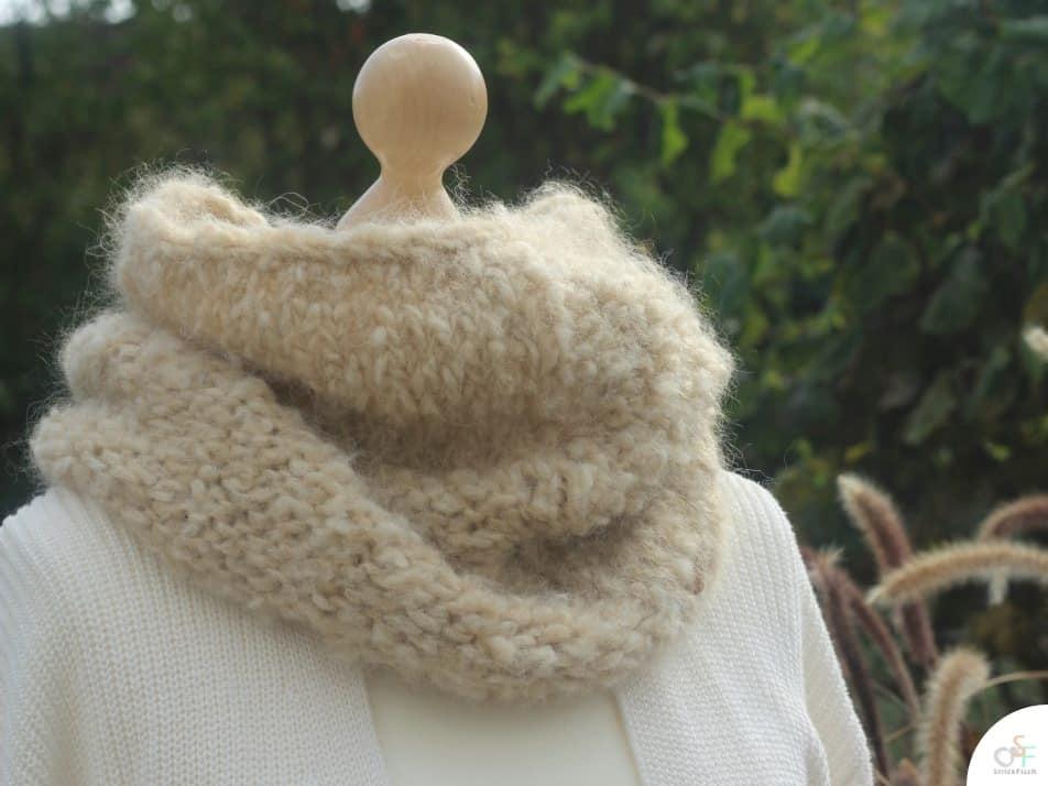 Tag der Wolle Design – Laponie Cowl – Strickanleitung