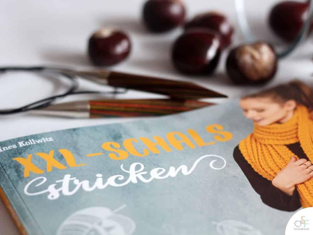 Buch Vorstellung: XXL-Schals stricken von Ines Kollwitz