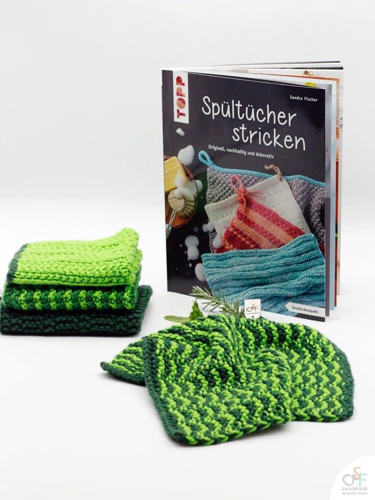 Spültücher stricken von Sandra Fischer alias StrickFisch - TOPP Verlag