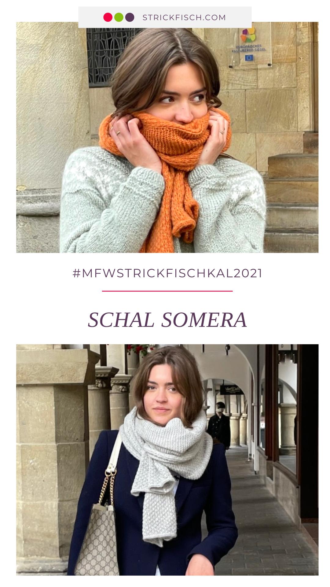 MfW-StrickFisch-KAL 2021 - Schal Somera