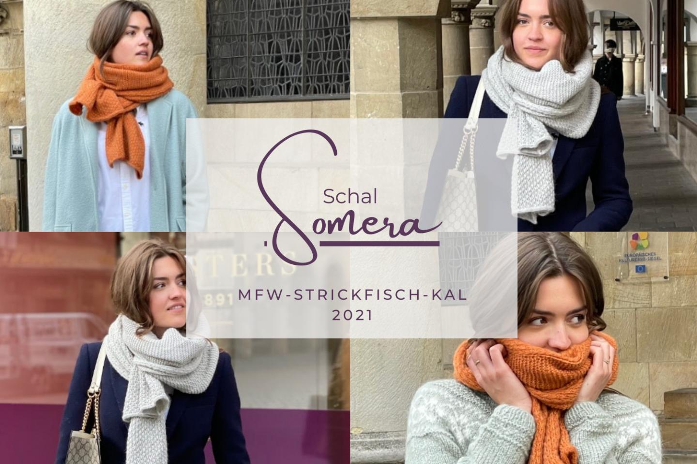 MfW-StrickFisch-KAL 2021 – Schal SOMERA