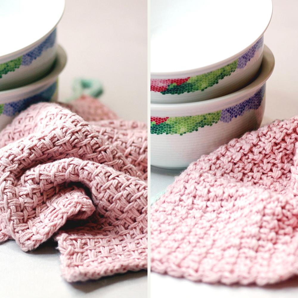 Noch mehr schöne Spültücher stricken - Sandra Fischer -Abschminkpads-stricken-musterstricken